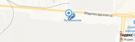 Нэкс на карте Чебоксар