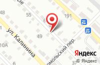Схема проезда до компании Аво в Вольске