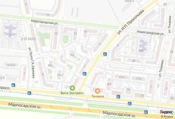 жилой комплекс Жилой район Новый город