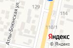 Схема проезда до компании Магазин в Семендере