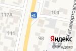 Схема проезда до компании Мебельный цех в Семендере