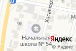 Схема проезда до компании Начальная школа №54 в Семендере