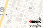 Схема проезда до компании Сотас в Семендере