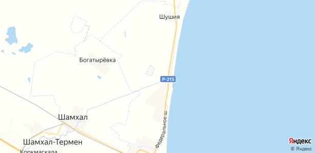 Тухчар на карте