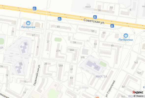 жилой комплекс ул. Советская 59А