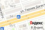Схема проезда до компании Строительный магазин в Махачкале