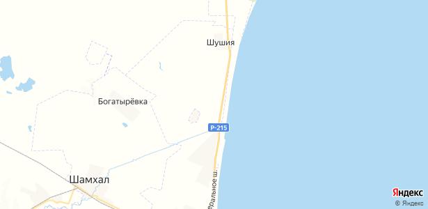 Гамиях на карте