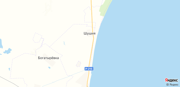 Новочуртах на карте