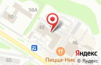Схема проезда до компании Смак в Новочебоксарске