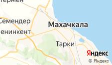 Отели города Альбурикент на карте