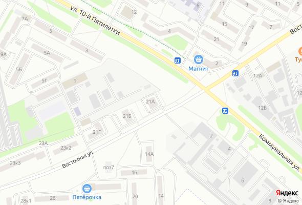 ЖК ул. Восточная 21А