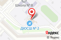 Схема проезда до компании Дельфин в Новочебоксарске