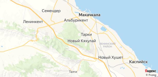 Тарки на карте