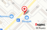 Схема проезда до компании РыбаПлюс в Новочебоксарске