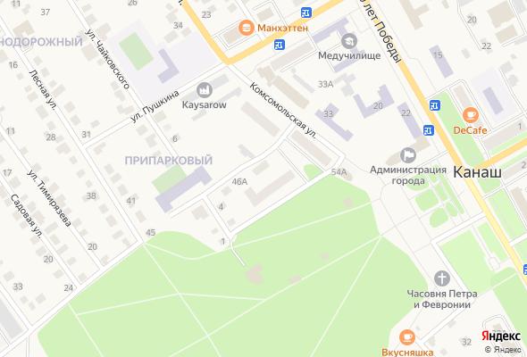 ЖК ул. Комсомольская, 56