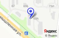 Схема проезда до компании НПФ ВОЛГОХИМ в Новочебоксарске