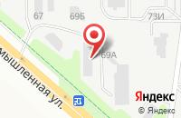 Схема проезда до компании Промстройкомплект в Новочебоксарске