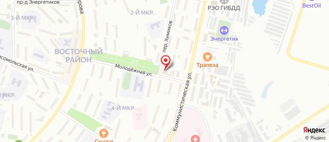 Карта расположения пункта доставки Халва в городе Новочебоксарск