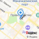 Федеральная антимонопольная служба РФ на карте Махачкалы