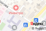 Схема проезда до компании Deniza в Махачкале