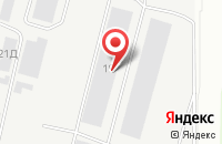 Схема проезда до компании Ниса в Новочебоксарске