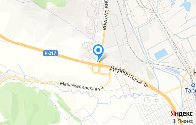 Местоположение на карте пункта техосмотра по адресу Респ Дагестан, Карабудахкентский р-н