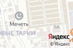 Схема проезда до компании Магазин кухонной мебели в Тарках