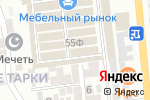 Схема проезда до компании Шахризат в Тарках