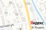 Схема проезда до компании Исмат в Тарках