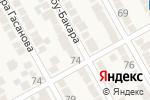 Схема проезда до компании Хозяйственный магазин в Новом Кяхулае
