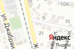 Схема проезда до компании Помощник в Махачкале
