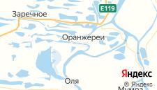 Отели города Образцовое на карте