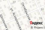 Схема проезда до компании Магазин в Новом Хушете