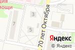 Схема проезда до компании Придорожный в Новом Атлашево