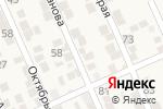 Схема проезда до компании Мини-маркет в Новом Хушете