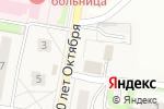 Схема проезда до компании Семерочка в Новом Атлашево