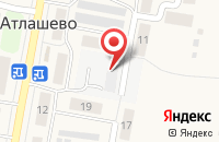 Схема проезда до компании Фармация в Новом Атлашево