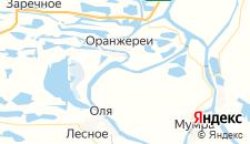 Базы отдыха города Вахромеево на карте