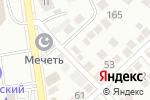 Схема проезда до компании Молоток в Каспийске