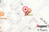 Схема проезда до компании Каспий Сити в Каспийске