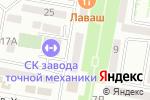 Схема проезда до компании Чекмастер в Каспийске