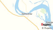 Отели города Замьяны на карте