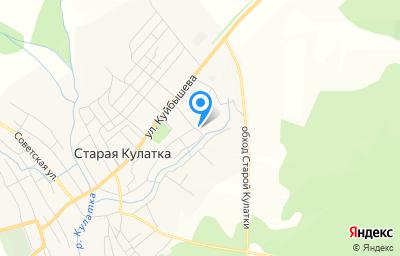 Местоположение на карте пункта техосмотра по адресу Ульяновская обл, рп Старая Кулатка, ул Кирова, зд 133Д