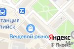 Схема проезда до компании МТС в Каспийске