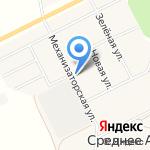Уралочка на карте Йошкар-Олы