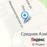 Азяковский фельдшерско-акушерский пункт на карте Йошкар-Олы