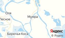 Отели города Мумра на карте