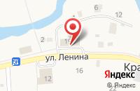 Схема проезда до компании Магнит в Краснооктябрьском