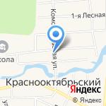Администрация муниципального образования п.г.т. Краснооктябрьский на карте Йошкар-Олы