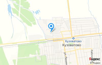 Местоположение на карте пункта техосмотра по адресу Ульяновская обл, рп Кузоватово, ул Калинина, зд 3А
